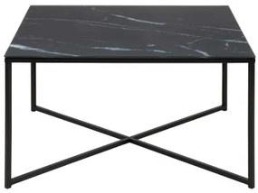 ALISMA SQUARE konferenčný stolík Čierna