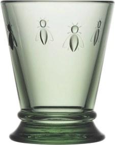 Zelený pohár La Rochère Abeille, 185 ml