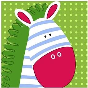 MISDA Obraz na plátne zebra