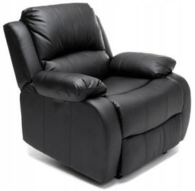 PROXIMA.store - Relaxačné kreslo - čierne