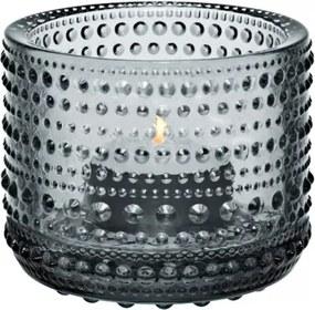 Svietnik Kastehelmi, sivý Iittala