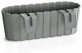 PlasticFuture Truhlík závěsný OAKEE 38,3 cm šedý