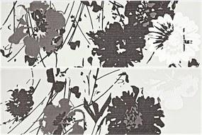 Dekor Rako Tendence čiernobiela 20x60 cm, pololesk WITVE005.1