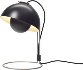 &Tradition Stolná lampa FlowerPot VP4, čierna
