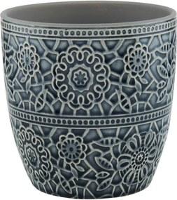 Butlers BLOOMY Kvetináč 13,5 cm - čierna