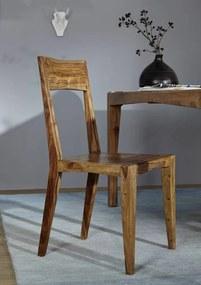 Bighome - MODERNA Jedálenská stolička drevená, palisander
