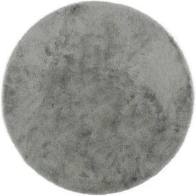 Sivá predložka do kúpeľne Confetti Bathmats Miami, 100 × 100 cm