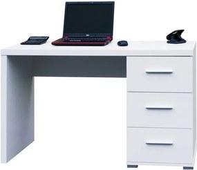 Sconto Písací stôl PEN biela