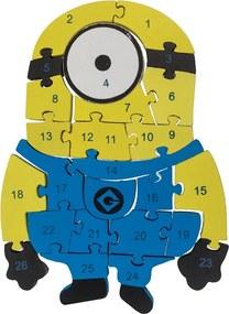 Drevobox Drevené puzzle Mimoň