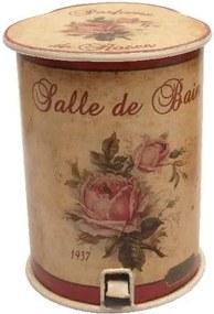 Odpadkový kôš Roses, 20 cm