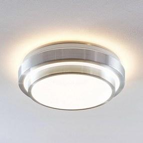 Lindby Naima stropné LED hliník, okrúhle, 34cm