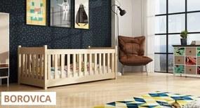 Koncept - detská posteľ ohrádka 180x80 - Borovica,