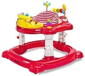 TOYZ Toyz HipHop Detské chodítko Toyz HipHop 3v1 červené Červená |