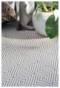Béžový vzorovaný obojstranný koberec Narma Kalana, 140 × 200 cm