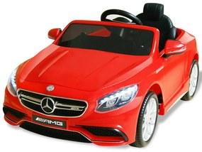Elektrické autíčko Mercedes Benz AMG S63, čerevené, 6 V
