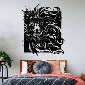 Drevený obraz na stenu - Lev