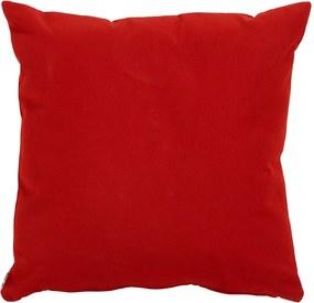 Červený záhradný vankúš Hartman Havana, 50 x 50 cm