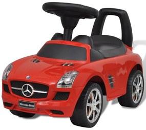 vidaXL Červené Mercedes Benz detské autíčko na nožný pohon