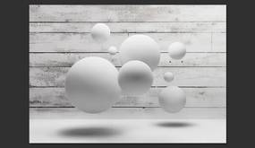 Fototapeta Bimago - Balls + lepidlo zadarmo 350x245 cm