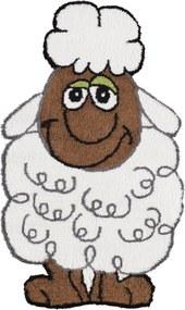 Koberec FLORI SHEEP - 75x130 cm
