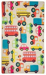 Detský protišmykový koberec Chilam Cars, 100 x 160 cm