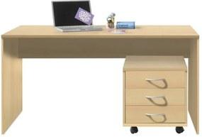 Sconto Písací stôl OPTIMUS 39-007 buk