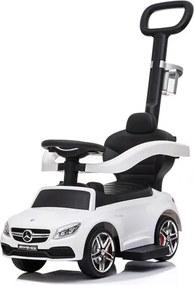 BAYO Nezaradené Detské odrážadlo s vodiacou tyčou Mercedes Benz AMG C63 Coupe Bayo white Biela |