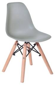 TZB Dětská židle  Paris Kids - šedá