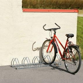 Stojan na bicykle, pre 5 bicyklov, 1320x330x250 mm