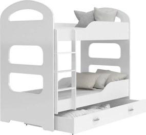GL Patrik 190x80 poschodová posteľ