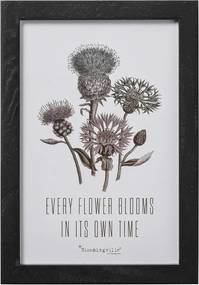Obrázok v ráme Kvety 30x20 cm Bloomingville 50500051