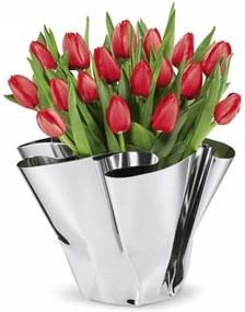 MARGEAUX - ručne tvorená nerezová váza - Philippi