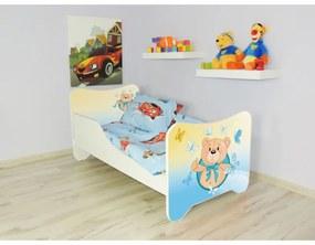 Detská posteľ s obrázkom 140x70 - Medvedík