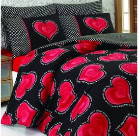 Obliečky s plachtou na dvojlôžko Buena, 200 × 220 cm