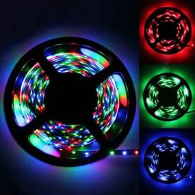 B2B LED pásik 5m s diaľkovým ovládačom