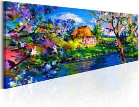 Bimago Obraz na plátne - Spring Charm 120x40 cm