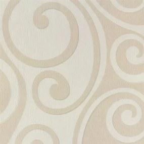 Vliesové tapety, ornamenty krémové, Di Moda 54246, Marburg, rozmer 10,05 m x 0,53 m