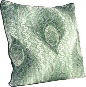 KARE DESIGN Sada 2 ks − Vankúšik Peacock 45 × 45 cm