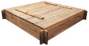 Pieskovisko, FSC impregnované drevo, štvorcové