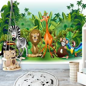 Fototapeta - Jungle Animals 400x280