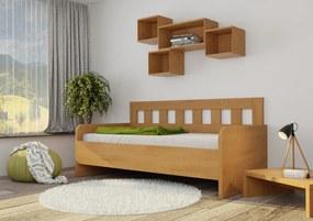 Wood Service Jednolôžko Mirka R bez úložného priestoru 100 x 200