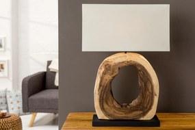 Masiv24 - Stolná lampa COKLE - prírodná