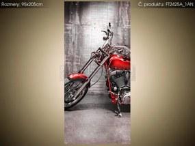 Fototapeta Vyblýskaná motorka 95x205cm FT2425A_1AN