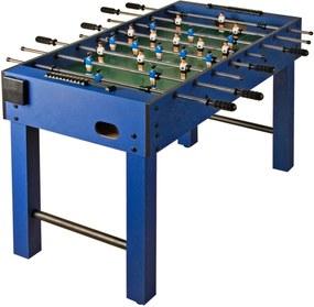 Stolní fotbal fotbálek Glasgow 121x101x79 cm | modrý