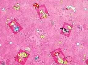 AKCE: 100x200 cm Metrážový koberec Happy / 447 růžová - Rozměr na míru bez obšití cm