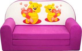 FI Mini pohovka pre deti Farba: RMIS