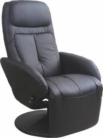 HALMAR Optima relaxačné kreslo čierna