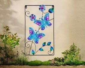Nástenná dekorácia Motýľ, modrá