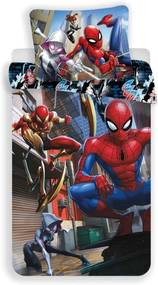 JERRY FABRICS Obliečky Spiderman Action Bavlna, 140/200, 70/90 cm