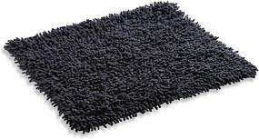 Škodák Kúpeľňová / WC predložka - koberček vzor Nopky 003 tmavo sivá - 55x55cm